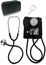 Primacare DS-9197-BK Manual Professional Blood Pressure Kit, Black with Stethoscope