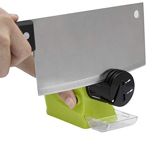 GAYBJ Coltello Elettrico per affilare i Swifty Sharp motorizzata per affilare i coltelli Rotating affilatura Pietra Affilatura Utensili