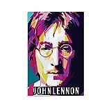 BCYD The Beatles John Lennon moderne Farbkunst auf