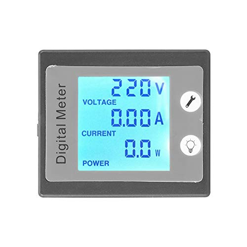 PEACEFAIR PZEM-011 Digitalmultimeter, AC 80-260 V 0-100 A 22 KW Amperemeter Voltmeter Watt Energy Panel + CT mit LCD Digitalanzeige