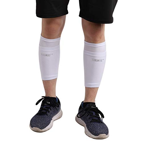Etophigh Fußball-Socken, Fußball-Schutzsocken mit Tasche für Fußball-Schienbeinschoner-Bein-Ärmel Fußball-Schienbeinschoner-Halter-Socken-Ärmel