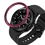 Anillo De Bisel Compatible con Samsung Galaxy Watch 4 Caja De...