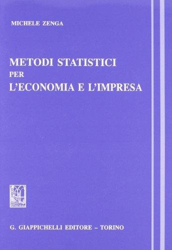 Metodi statistici per l'economia e l'impresa