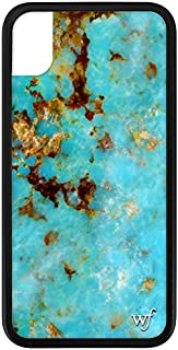 Wildflower Limited Edition iPhone Case for iPhone XR (Turquoise)
