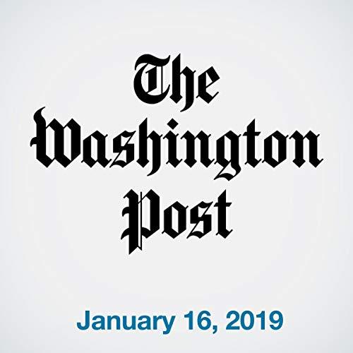 January 16, 2019 copertina