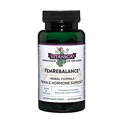 Formulated to promote a woman's normal hormone profile This formula offers support to 'reset' hormone levels Non GMO, organic and wild crafted herbs Suitable for vegetarians and vegans Formulated by Dr. Tori Hudson a Naturopathic Physician