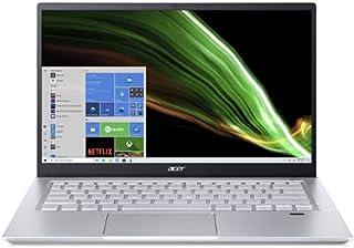 Acer Swift X SFX14 Ultrathin-AMD Ryzen 7-5700U Octa Core 1.80GHz Upto 4.30GHz/16GB LPDDR4X RAM/1TB SSD Storage/4GB Nvidia ...