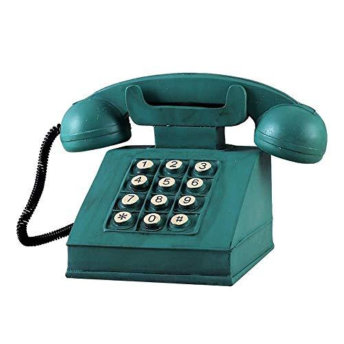 QWEA - Hucha de teléfono Retro para Regalar a Amigos, niños y niñas de Resina, Accesorios para Ventanas de exhibición, Hermosos Regalos de Recuerdo para la Sala de Estar y la Sala de Estudio