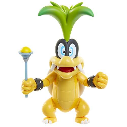 SUPER MARIO World of Nintendo 4' Iggy with Wand Toy Figure