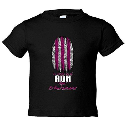 Camiseta niño lo tengo en mi ADN Valladolid fútbol - Negro, 12-14 años
