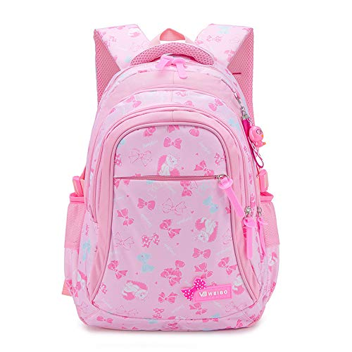 LYZJDP Backpacks, School Bags for Elementary and Middle School Students, Lightweight Water-Repellent Backpacks, Three-Piece Sweet Prints