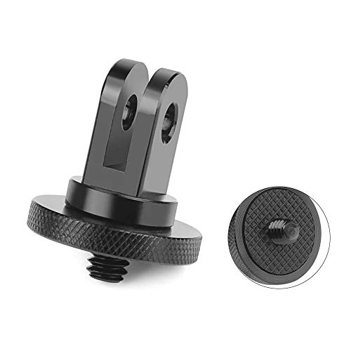 """FUNTEN 1/4""""-20 Camera Mount Tripod Adapter for GoPro Ecosystem 100% CNC Aluminum Adapter Mounting Cameras to GoPro Mount Accessory"""