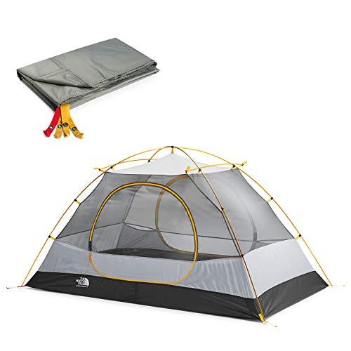The North Face Stormbreak 2 Tent and Footprint Bundle, Golden Oak/Pavement, OS