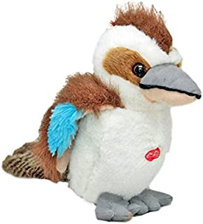 Elka Australia 5716-17 Kookaburra with Sound Soft Plush Toy, 17 Centimeters