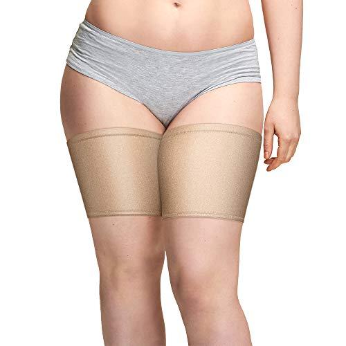 Gmumu Damen Anti Chafing Bands Thigh Bands Oberschender Socke Elastische Oberschenkelbänder Bänder Socke Anti-Scheuern