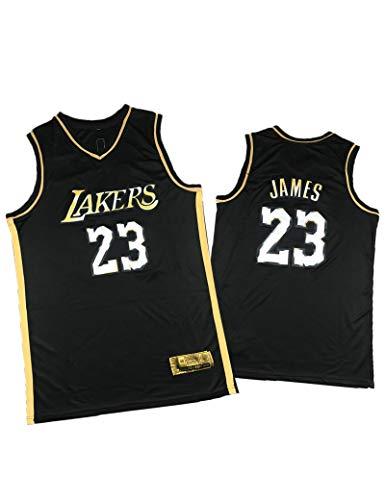 FDSNFV Hombre Jersey Ropa de Baloncesto # 23 James Uniforme de Baloncesto Malla Jersey Camiseta de Basketball Jersey