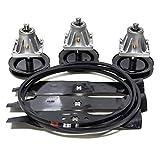 EPR Distribution Rebuild Kit Blades Spindles Belt Fits Cub Cadet 46' LT1045 LT1046 Lawn Mowers