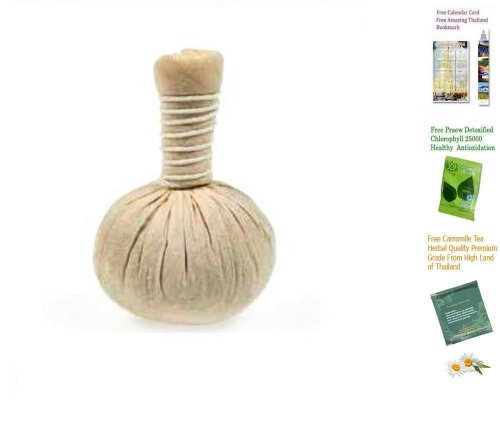 Thai Spa Herbal Hot Compress Massage Ball Therapy (luk Pra Kob) Made In Thailand