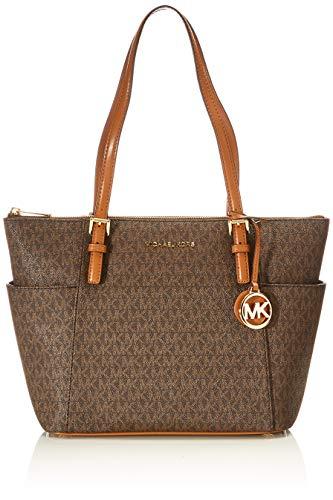 Michael Kors Womens Jet Set Handtasche, Brown/Acorn, Einheitsgröße