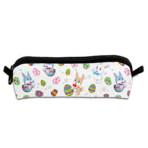 Pen Case Unisex,Easter Bunnies,Durable Student Stationery,Used For Study,School,Travel