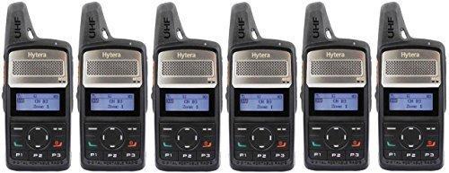 Hytera PD365 UHF 3 Watt Compact Analog & Digital Radio mit zweifacher EHS16 6 x B ügel Sicherheit