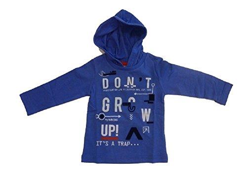 Mexx – T-Shirt à Manches Longues Enfant avec Capuche Dazzling Blue Taille 74–92 - Bleu - 74