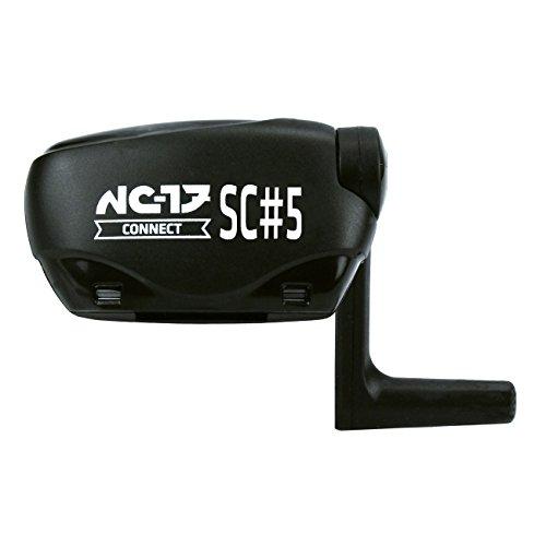 NC-17 Unisex Velocomputer-set Fahrrad-sensor Dualband Geschwindigkeits und Trittfrequenzsensor, Kompatibel zu Ant Fahrradsensor, Schwarz,Einheitsgröße EU