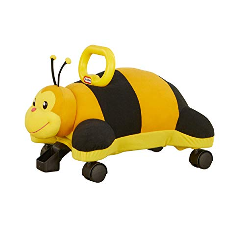 Little Tikes Bee Pillow Racer, Soft Plush Ride-On Toy for Kids