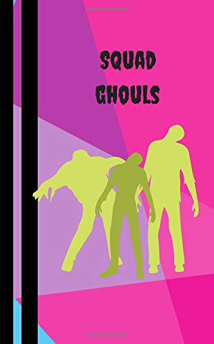 Ghoul Squad: Halloween Book For Kids - Trick or Treat Books Journals Diary - College Rule Lined Writing Book 5 x 8 inches (MindCandy Halloween Books, Band 6)