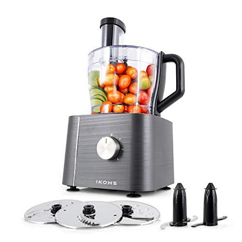 IKOHS KUTCREW - Procesador de Alimentos, Robot de Cocina Multifunción, Picadora, Batidora,...