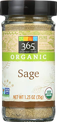 365 Everyday Value, Organic Sage, 1.23 oz