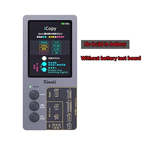 RAQ Qianli iCopy Plus LCD-display Sensibility EEPROM timer met batterijtester voor iPhone XR XS MAX 8P 7 Package List 4