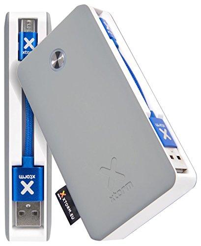 Xtorm Travel 6000 batería Externa Plata 6000 mAh - Baterías externas (Plata, Teléfono móvil/Smartphone, 6000 mAh, USB, 5 V, 2 A)
