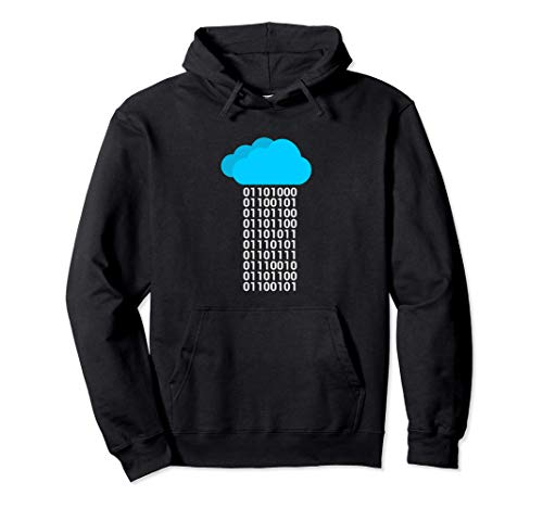Programador Cloud Big Data Developer Binary Sudadera con Capucha