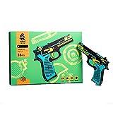CCCYT Puzzle De Madera 3D Kit De Montaje De Pistola Monta Tu Pistola Que Dispara para Niños Y Adultos