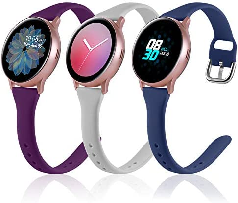 3 Pack Vcegari Slim Band for Samsung Active 2 Watch 40mm 44mm Galaxy Watch 3 41mm Galaxy Watch product image