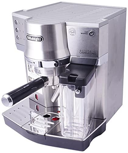 De'Longhi EC 860.M - Máquina espresso, independiente, 1450 W, 1 L, acero inoxidable, plateado, 41 x 33 x 44 cm