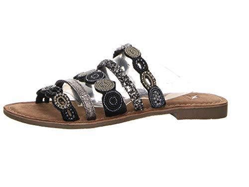 Kim Kay Damen Sandalette Pantolette schwarz Gr. 39