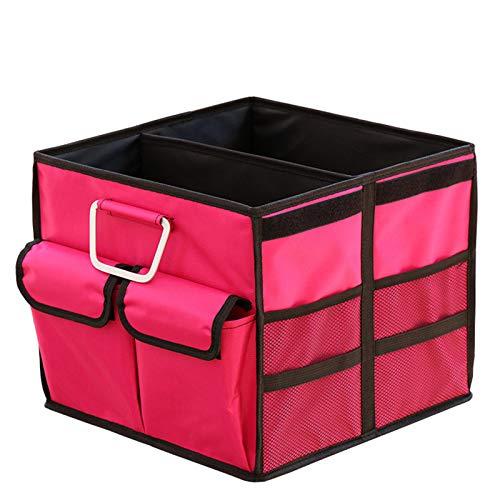 Car Boot Organizer, Langlebig/Wasserdicht/Rutschfest/Verstellbare Fächer Kofferraum Ordentlich Aufbewahrungsbox, Home - Hochleistungs-langlebige Konstruktion (4)
