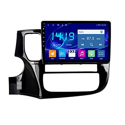Android 10.0 9 Pulgadas Radio Satelital Para Automóvil Reproductor Multimedia Autoradio Navegador GPS Para Mitsubishi Outlander 2013-2018 Soporte WiFi Bluetooth/Control Del Volante(Color:WIFI 4G+64G)