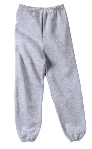 Joe's USA - Youth Soft and Cozy Sweatpants Athletic Heather. Size Youth L(14-16)