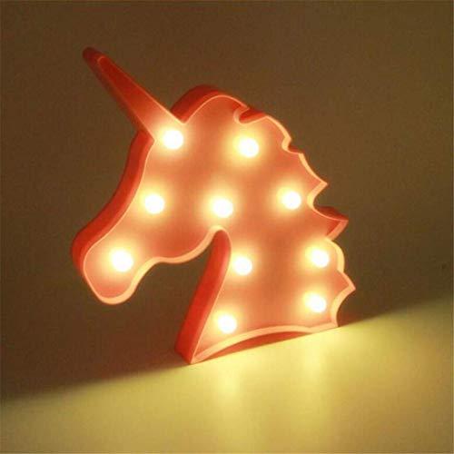Led plafondverlichting plafondlamp Unicorn schieten Decoratieve LED Lights Rekwisieten leuke kinderkamer stijl droom wandbehang tafellamp voor slaapkamer keuken hal kantoor Stairwell eetkamer Th