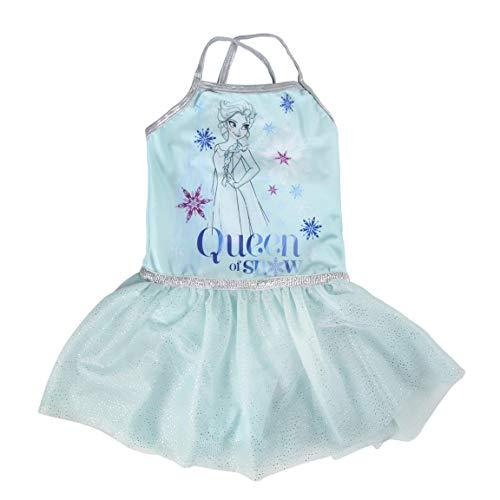 Disney Frozen 2  Tutu con falda de tul para nia, 2/7 aos azul claro 4-5 Aos