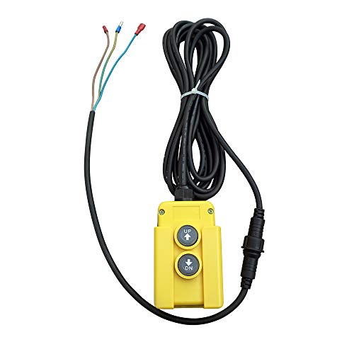 Fisters 3 draht dump trailer remote control switch für einfachwirkende hydraulikpumpen 12v 3-draht-steuerung wechseln