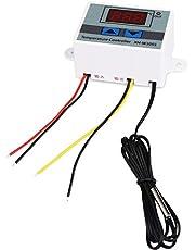 Guangcailun Temperatura LED Controlador Digital Impermeable Interruptor de Temperatura del Panel de sensores Calefacción Refrigeración Termostato 12V