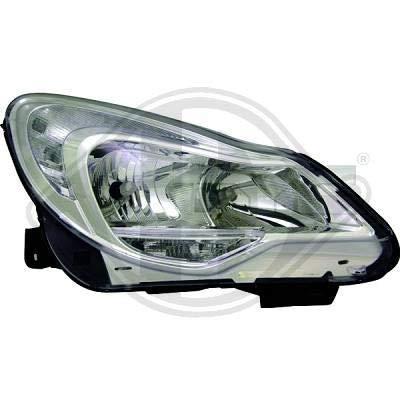 1814183; koplamp links (bestuurderszijde) voor O. Corsa D van 2011 tot 2014 originele look