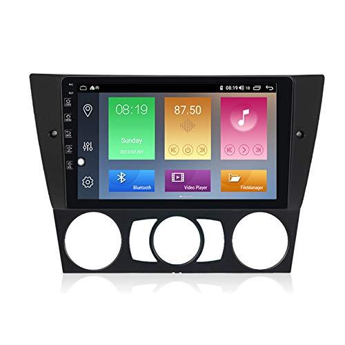 Amimilili Radio Coche con 9 Pulgadas Pantalla Táctil para BMW 3 Series E90/E91/E92/E93 GPS Radio estéreo Bluetooth/GPS/FM/USB, Apoyo De Control del Volante, Enlace De Espejo,M600 6+128g