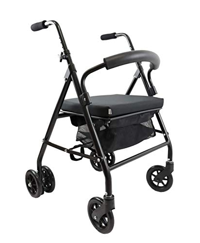 KMINA - Andador para ancianos, Andador plegable, Andadores para ancianos, Andadores adultos 4...