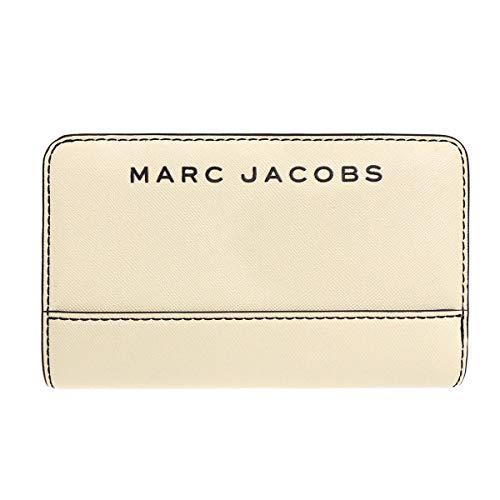 [マークジェイコブス] Marc Jacobs 財布(二つ折り財布) M0015161 マシュマロ ブランデッド サフィアーノ レザー コンパクト ウォレット レディース [アウトレット品] [ブランド] [並行輸入品]