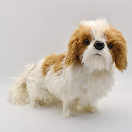 Hansa Shih Tzu Plush Dog